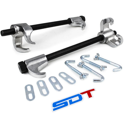 Coil Spring Compressor Installation and Removal Tool with Clamps for Jeep Models