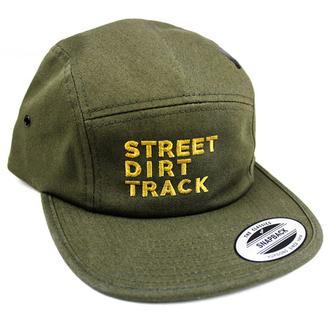SDT 5 Panel Embroidered Snapback