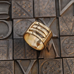 NR Lana Ring Gold Plated 3