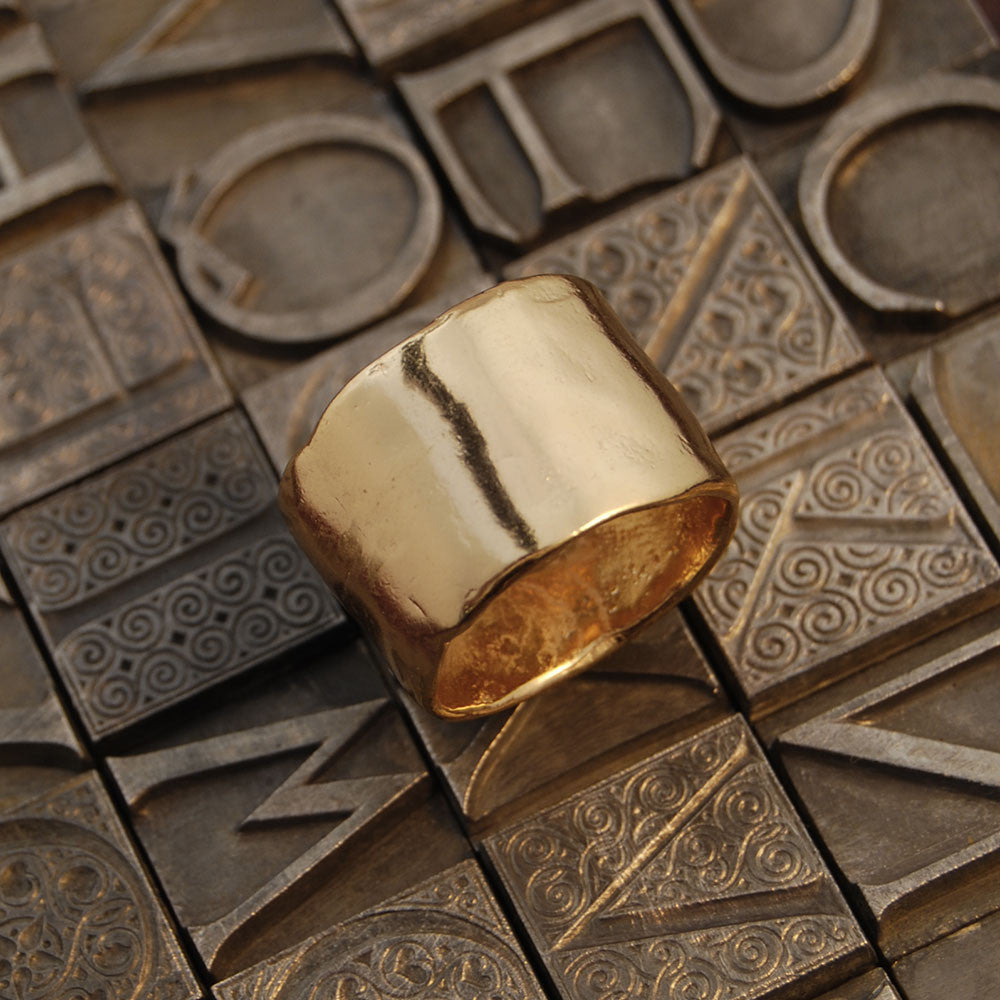 NR Lana Ring Gold Plated 7