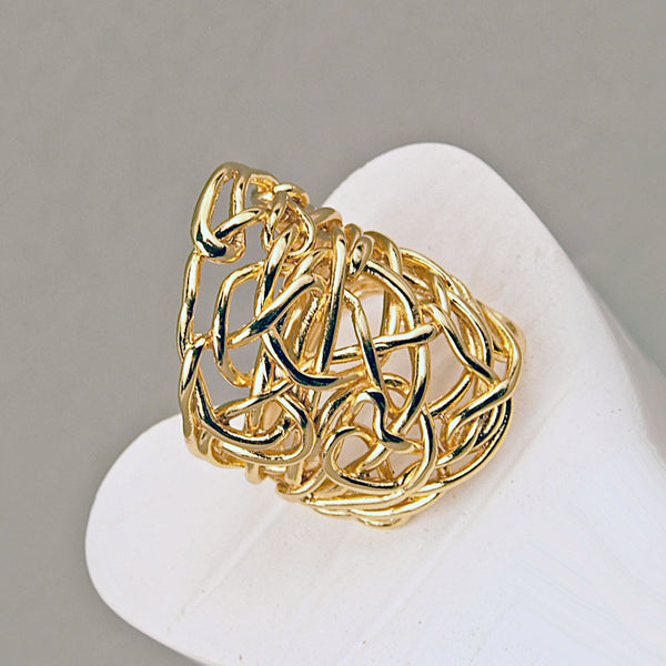 NR Candela Ring Gold Plated F2