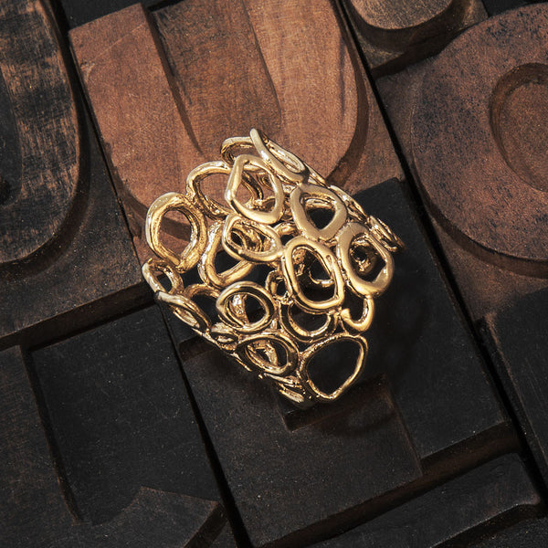 Clara 1 <br /> Ring Plated