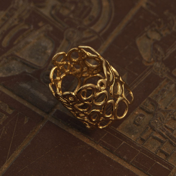 NR Clara Ring Gold Plated 1