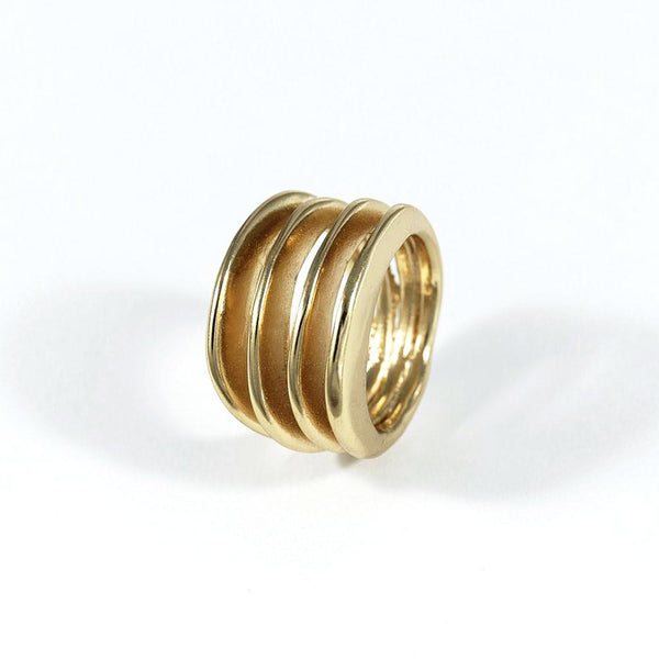 NR Lana Ring Gold Plated X4