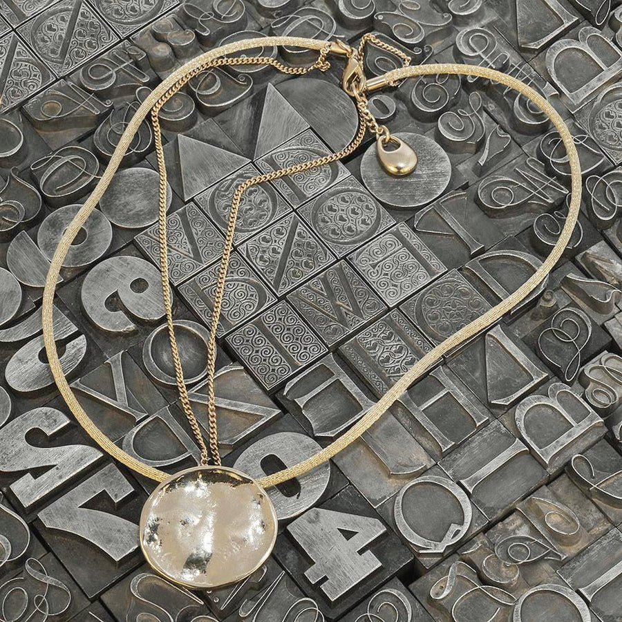 Abril 4 <br /> Necklace Plated