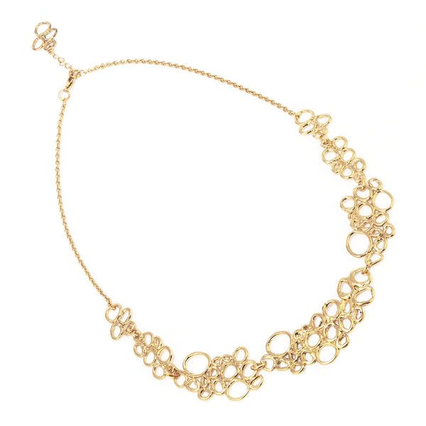 NR Clara Necklace Gold Plated 3