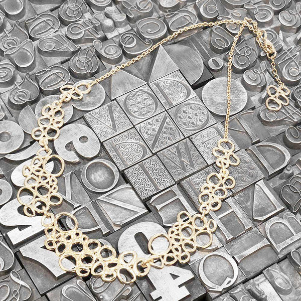 Clara 3 <br /> Necklace Plated