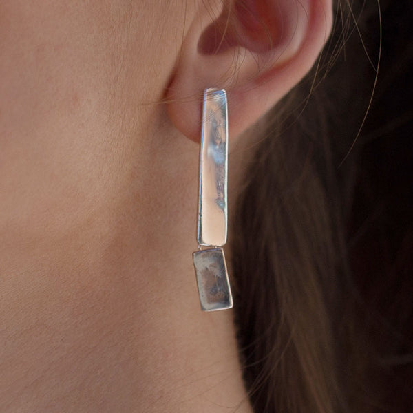 NR Lana 47 <br /> Earring Stud Silver Plated