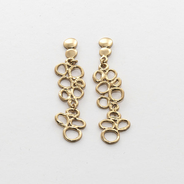 NR Clara 2 <br /> Earring Stud Gold Plated