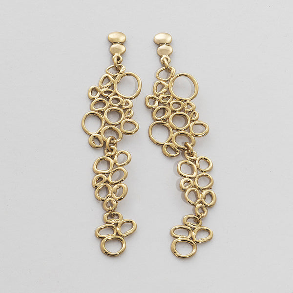 NR Clara Earring Stud Gold Plated 3