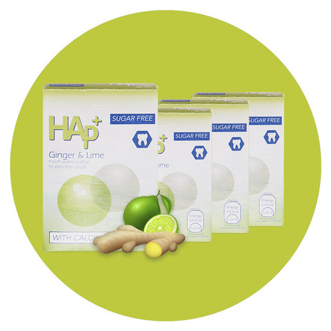 HAp⁺ Lime & Ginger 4 packs