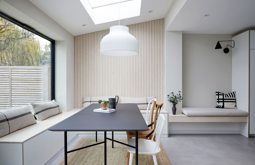 someday designs renovation story | open plan dining and social space