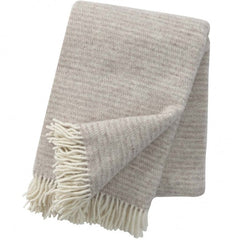 klippan ralph throw beige