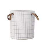 ferm living grid storage basket home office