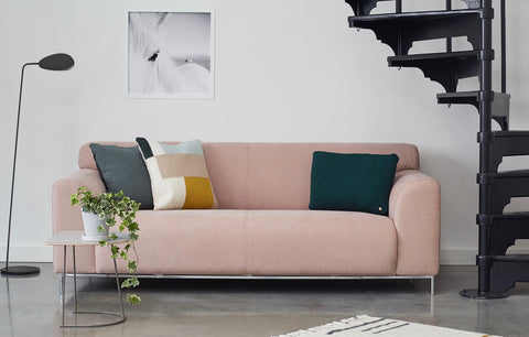 Muna sofa in industrial setting