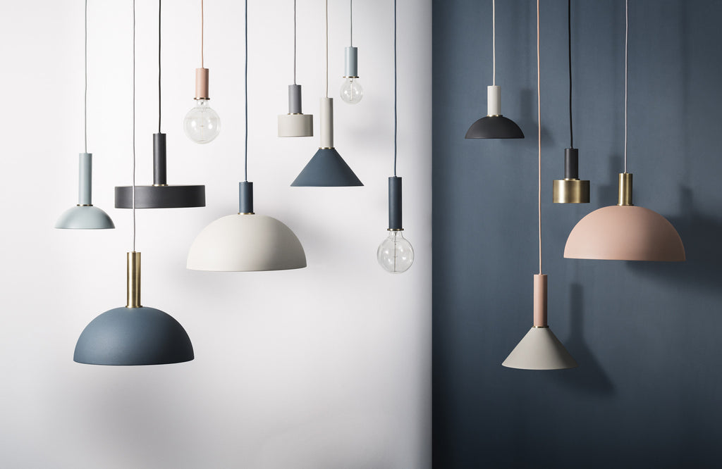 beautiful, subtle lighting combinations from the Collect Lighting series by Ferm Living