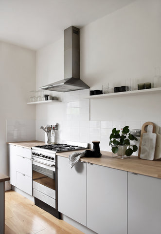 Minimalist Kitchen of Abi Dare, blogger of interiors and lifestyle website, These Four Walls