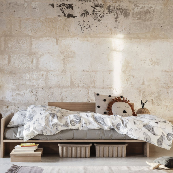 Ferm Living Kona Bed, ideal as a single bed for kids. Available from someday designs
