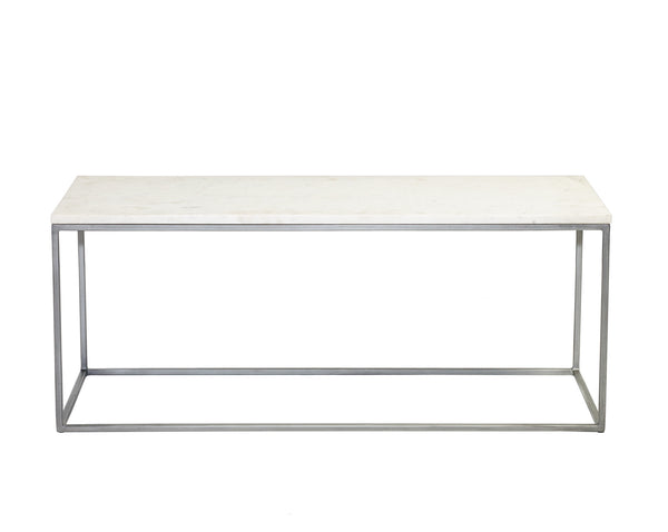 Chelsea marble coffee table rectangle from Content by Terence Conran