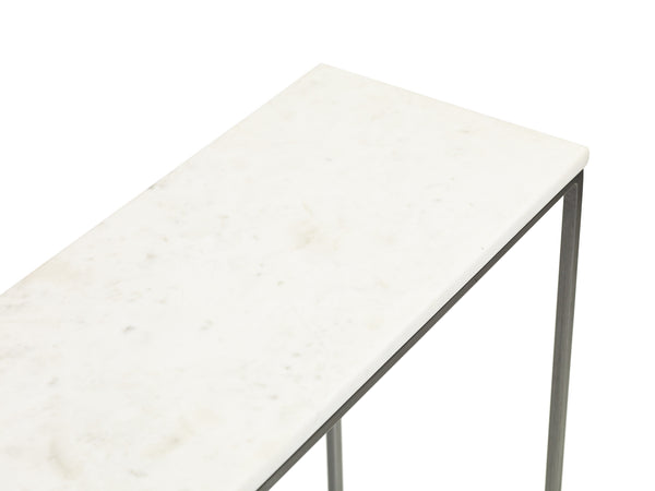Close up shot of Chelsea marble console table from Content by Terence Conran