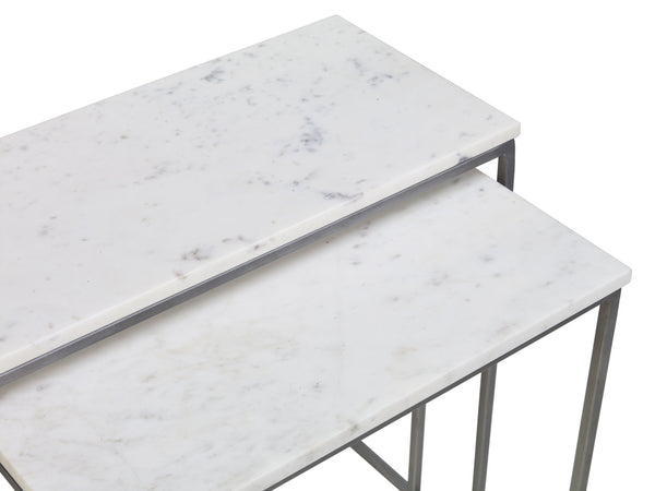 Close up shot of Chelsea marble side table from Content by Terence Conran