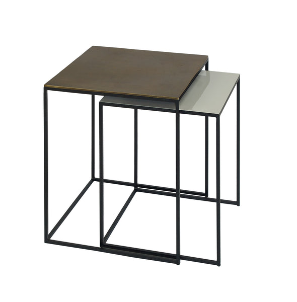 Fera Square Side table Enamel from Content by Terence Conran