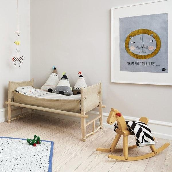 a kids bedroom scene full of design led homewares & accessories inspiring creative play and fun.