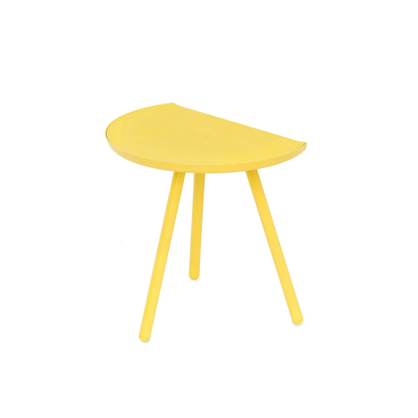 Vitamin Eclipse table in yellow and stained ash. Great space saving solution. Shop online at someday designs