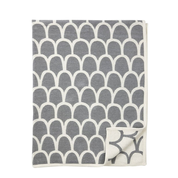 @somedaydesigns.co.uk | klippan feathers blanket grey. Buy now from someday designs