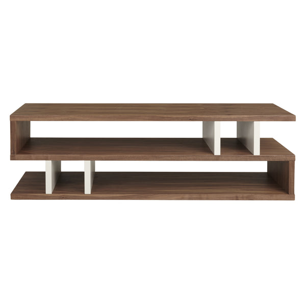Walnut and Pebble Counter Balance Coffee Table from Content by Terence Conran