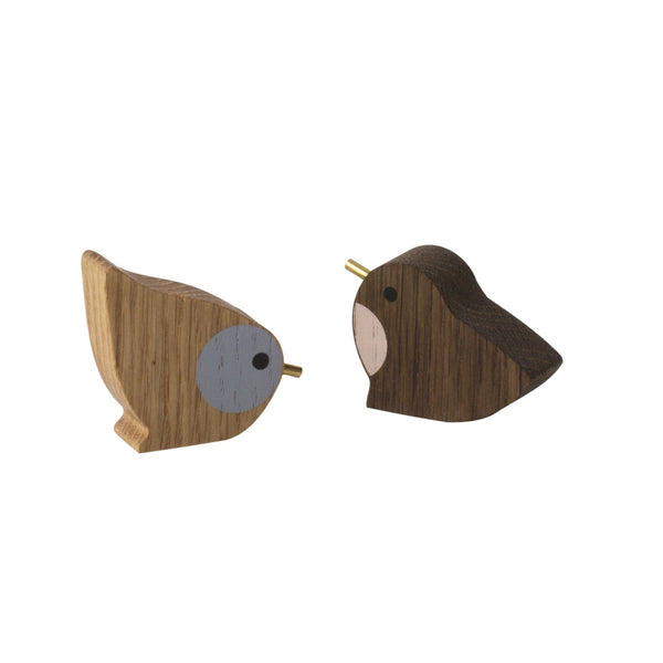 winterland birds set of 2 by ferm living
