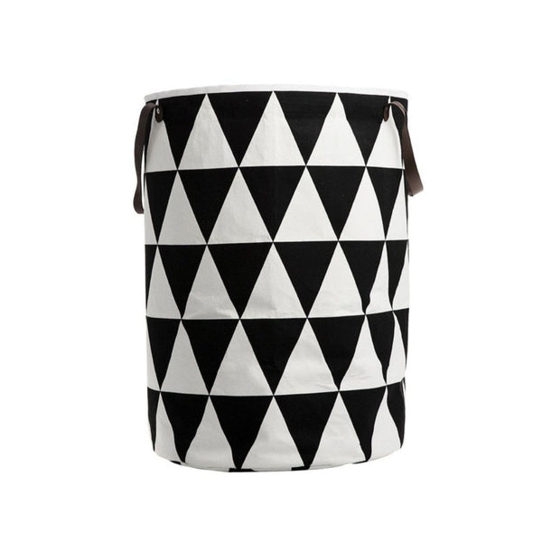 Ferm Living laundry basket triangles. Shop online at someday designs