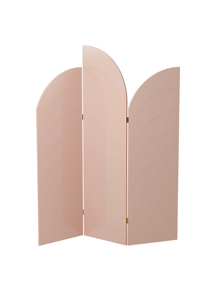 unfold room divider, rose by Ferm Living