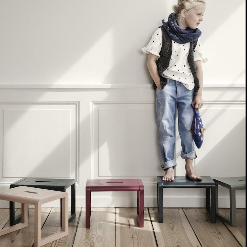 ferm living little architect stool, available in a range of colours from someday designs