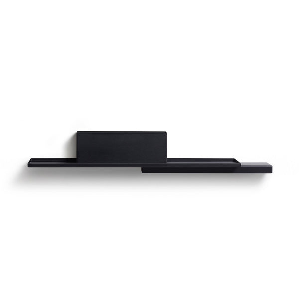 puik duplex shelf in black, available to buy from someday designs