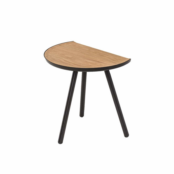 Vitamin Eclipse table in black and oak. Great space saving solution. Shop online at someday designs