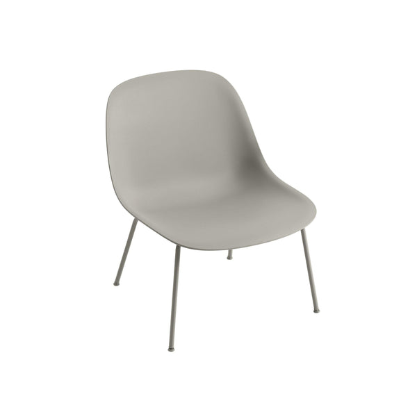 muuto fiber lounge chair grey seat grey base available from someday designs
