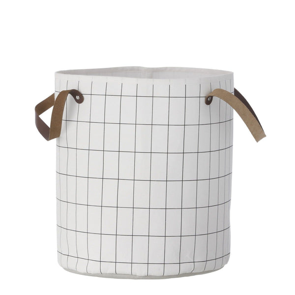 Ferm Living grid basket. Buy now from someday designs