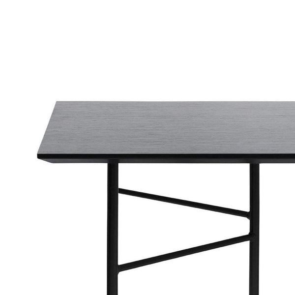 Ferm Living | Mingle Table Top 210 | Black Veneer | shop online at someday designs