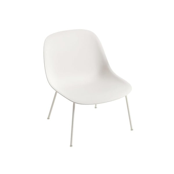 muuto fiber lounge chair white seat white base available from someday designs