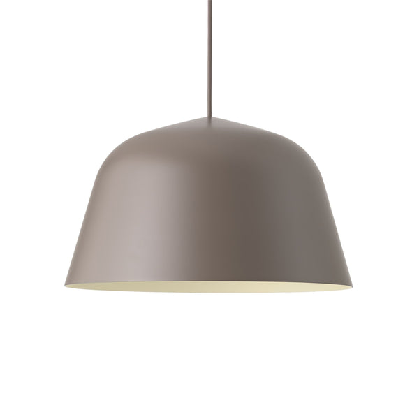 muuto ambit pendant lamp taupe large available from someday designs