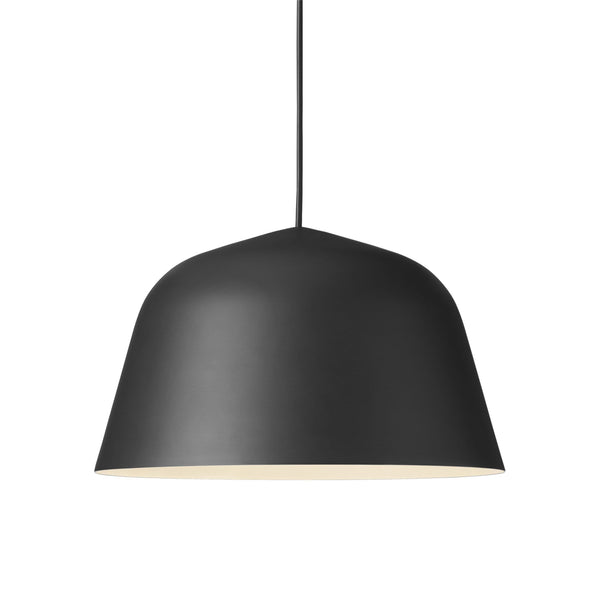 muuto ambit pendant lamp black large 40cm available from someday designs