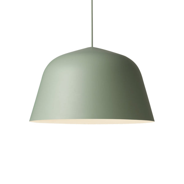 muuto ambit pendant lamp dusty green large available from someday designs