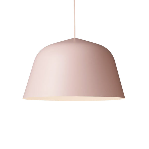 muuto ambit pendant lamp rose large 40cm available from someday designs