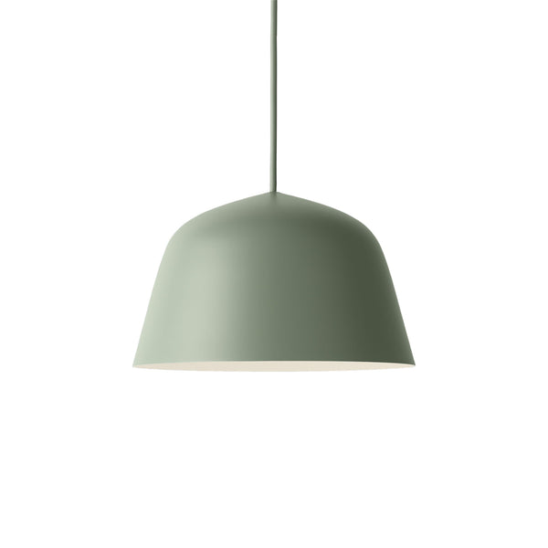 muuto ambit pendant lamp dusty green small available from someday designs