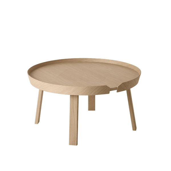 Muuto Around Coffee Table large in oak. Available from someday designs
