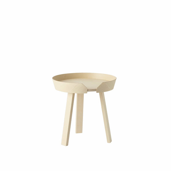 Muuto Around Table small in ash, available from someday designs