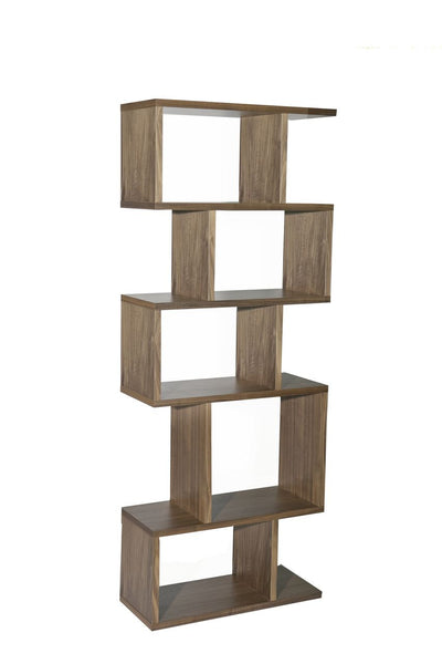 Walnut Balance Alcove Shelving from Content by Terence Conran