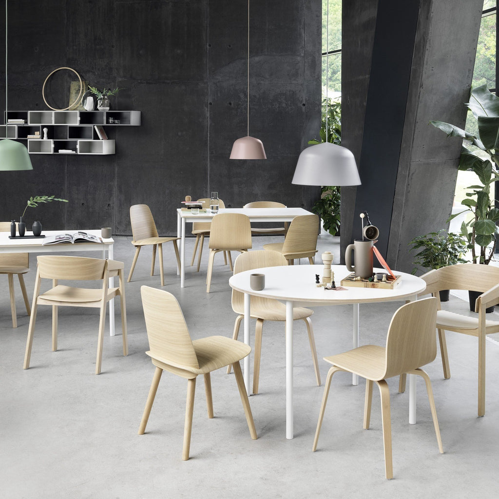 Muuto Nerd Chair in Oak, ideal dining room chair. Shop now from someday designs