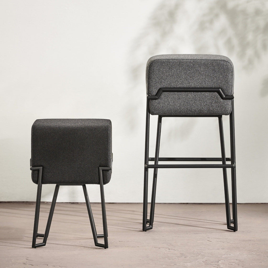 puik bokk bar stool and puik bokk stool, available to buy from someday designs
